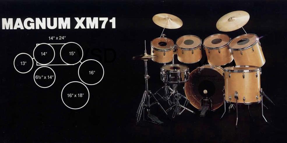 Slingerland MagnumXM71