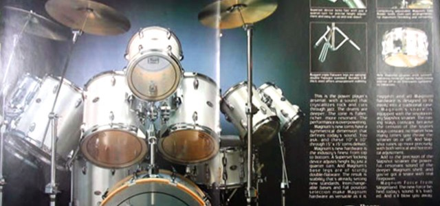 httpv://youtu.be/CYIMYurDxS0 30 years is a long time.  For my high school graduation, I was given a  7 piece Slingerland Magnum Force drum set.  Pretty cool stuff at the time.  Because...